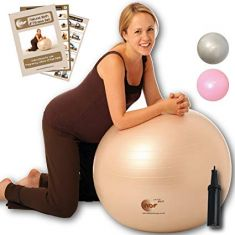 The Natural Birth & Fitness Ball with Pump