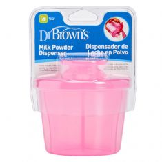 Dr Browns Milk Powder Dispenser - PINK