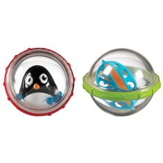 Munchkin: Bath Float and Play Bubble Balls 2PK