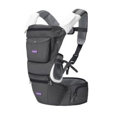 Hip Healthy Baby Carrier - Grey